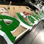 Reklama Litery Przestrzenne Blokowe 3D Plantpol Zaborze Oświęcim